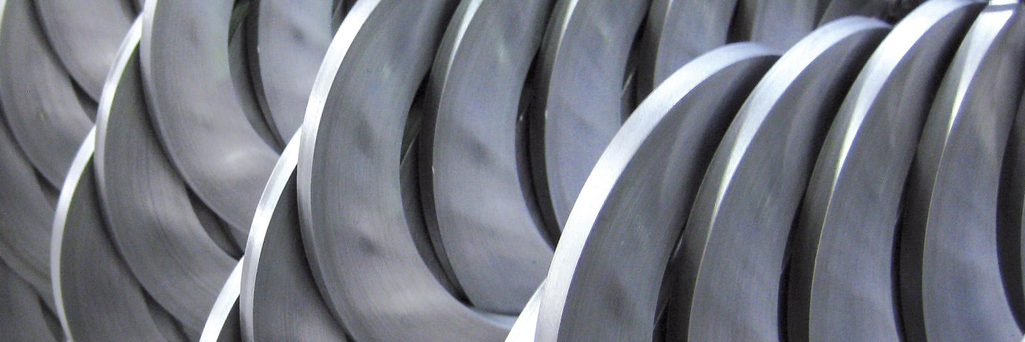 Turbolatori e spirali metalliche per coclee: spirali a spessore continuo Eurospiral