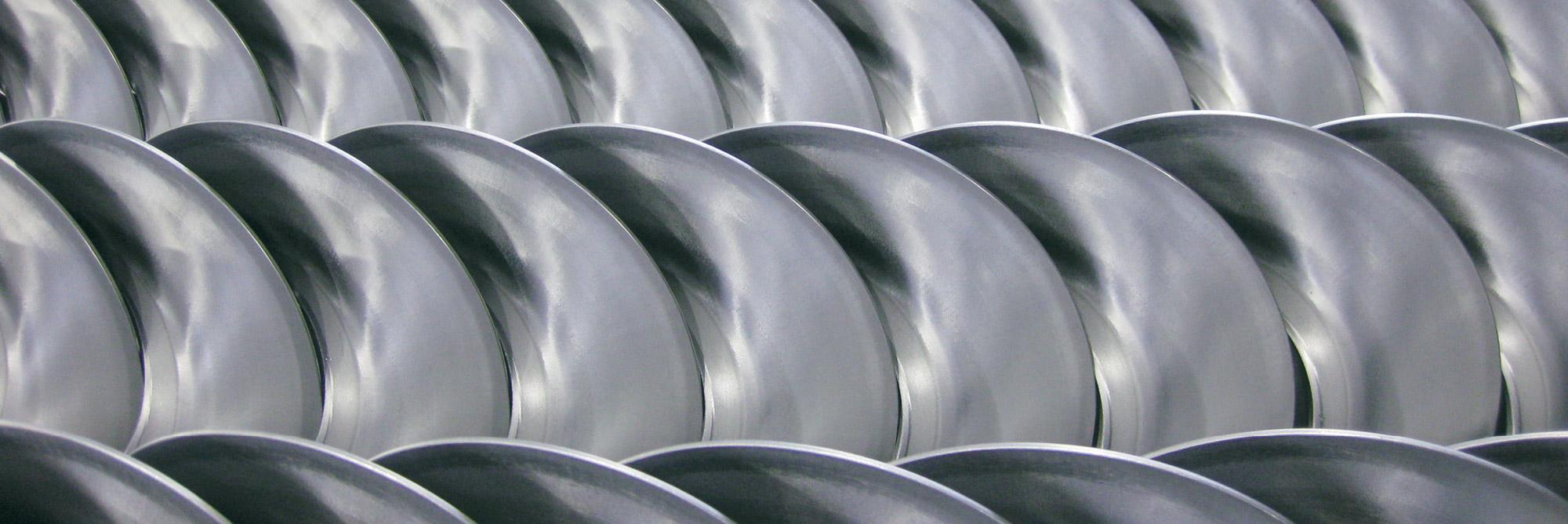Turbolatori e spirali metalliche per coclee: spirali continue Eurospiral