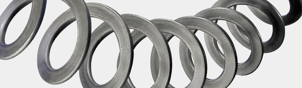Turbolatori e spirali metalliche per coclee: spirali flessibili