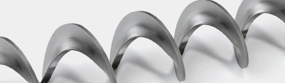Turbolatori e spirali metalliche per coclee: spirali speciali