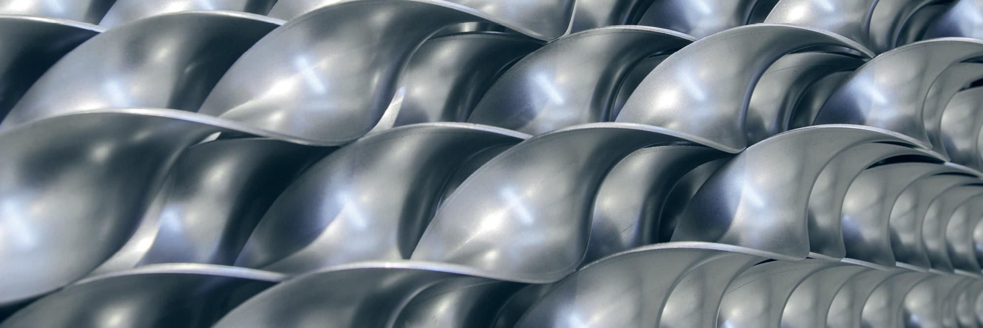 Turbolatori e spirali metalliche per coclee: turbolatori per caldaie Eurospiral