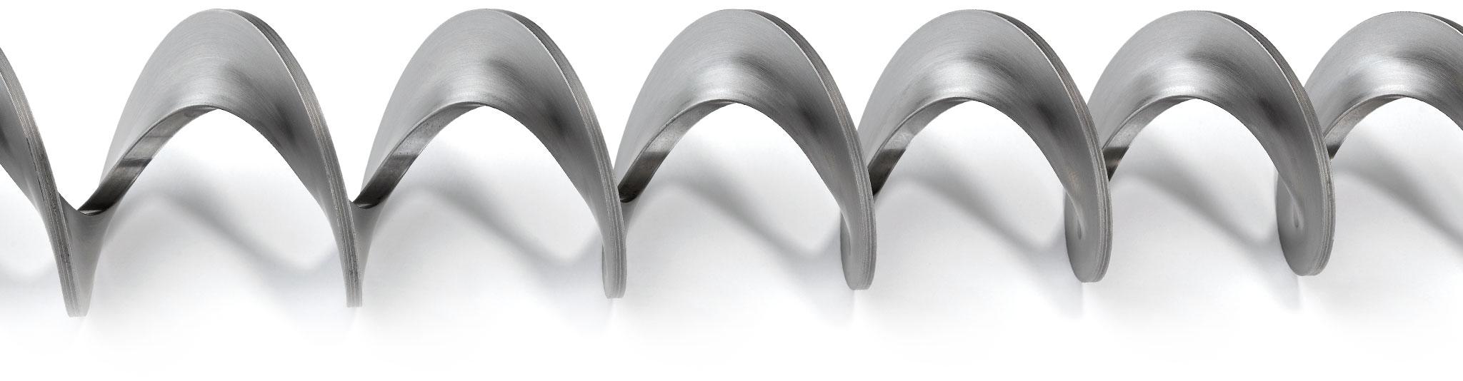 Spirali speciali per stufe e caldaie a pellet e cippato