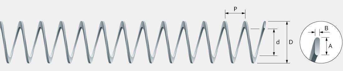 Spirali flessibili in acciaio per trasporto cippato, biomasse per caldaie e mangimi per impianti zootecnici di alimentazione automatica_01