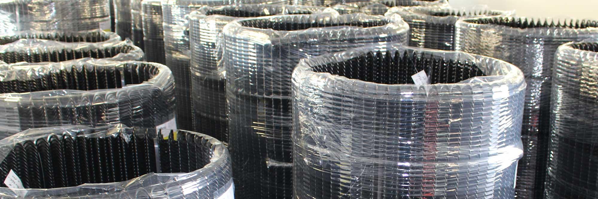 Spirali flessibili in acciaio per trasporto cippato, biomasse per caldaie e mangimi per impianti zootecnici di alimentazione automatica_gallery07