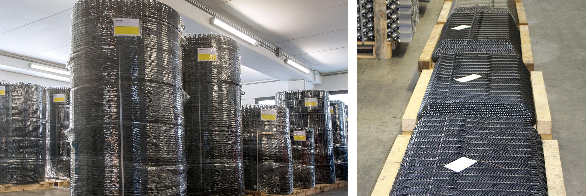 Spirali flessibili in acciaio per trasporto cippato, biomasse per caldaie e mangimi per impianti zootecnici di alimentazione automatica_gallery08