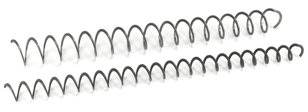 Spring turbulators with hook for heat exchangers - Eurospiral